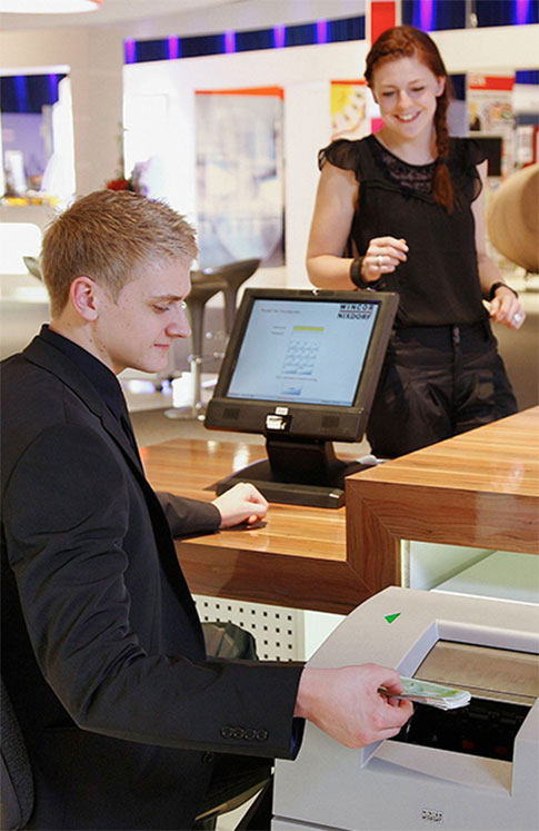 Cash Counter Image